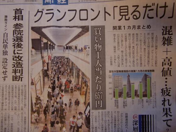 産経新聞眺めてて201306-08
