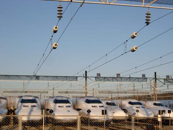 摂津の新幹線基地08