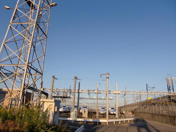 摂津の新幹線基地09