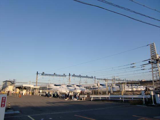 摂津の新幹線基地10