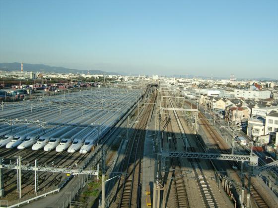 摂津の新幹線基地12