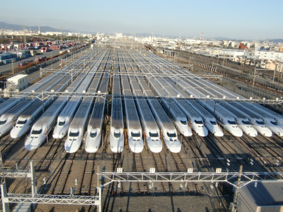 摂津の新幹線基地13