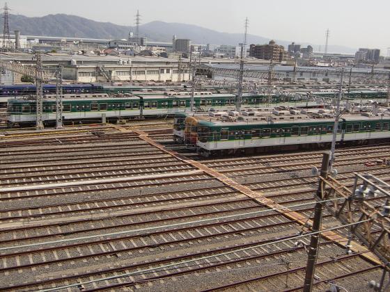 京阪トーマス号2013と桜その1-11