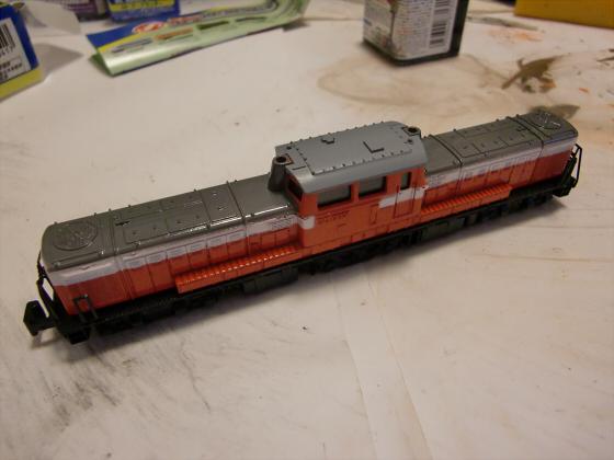 トレーンDD51模型01