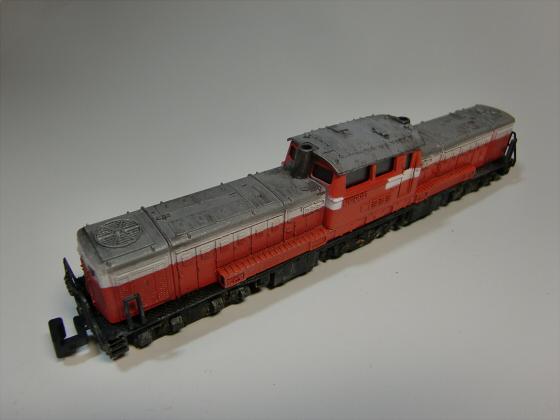 トレーンDD51模型02