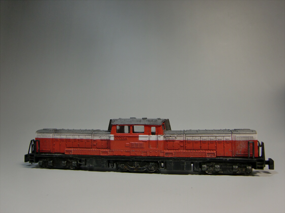 トレーンDD51模型03