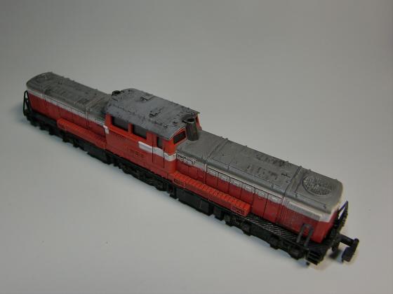 トレーンDD51模型04
