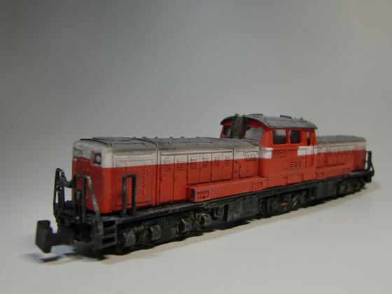 トレーンDD51模型05