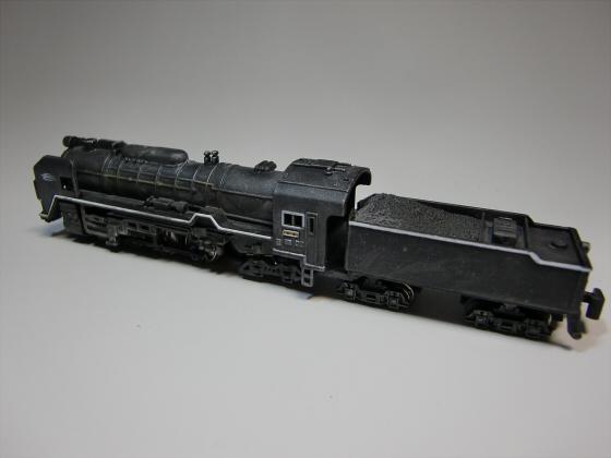 トレーンC62蒸気機関車03