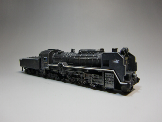 トレーンC62蒸気機関車05