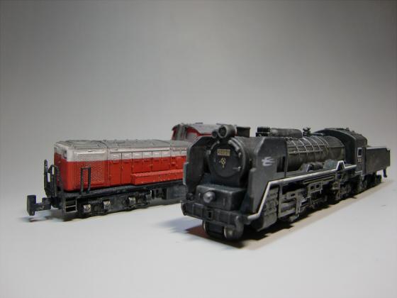 トレーンC62蒸気機関車09