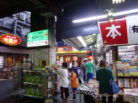 鶴橋周辺の商店街02