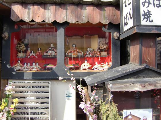 壺阪山「町家の雛めぐり」02