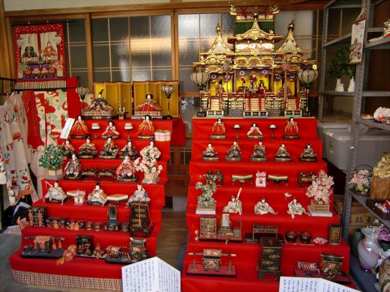 壺阪山「町家の雛めぐり」16