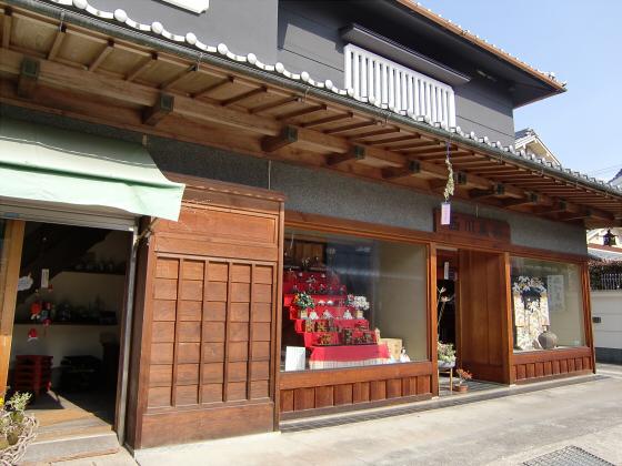 壺阪山「町家の雛めぐり」18