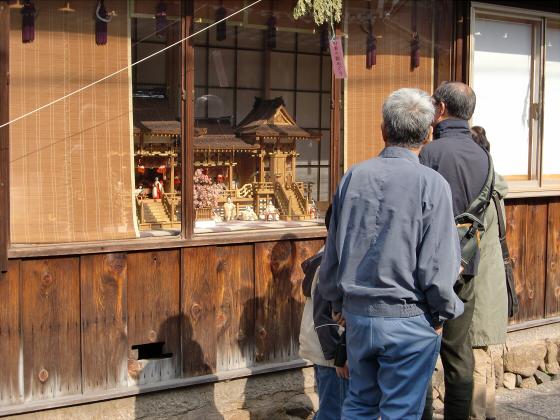 壺阪山「町家の雛めぐり」24