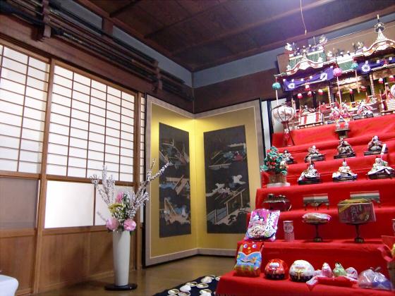壺阪山「町家の雛めぐり」26