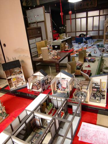 壺阪山「町家の雛めぐり」34