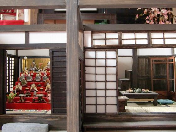 壺阪山「町家の雛めぐり」36