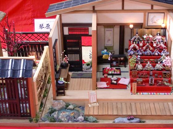 壺阪山「町家の雛めぐり」37