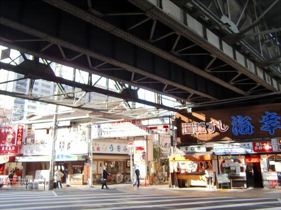 鶴橋鮮魚市場の辺りとか1