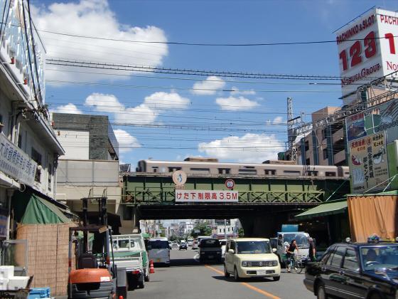 鶴橋鮮魚市場の辺りとか2