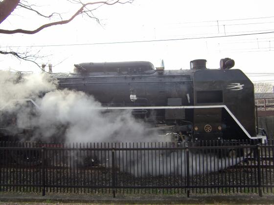 梅小路蒸気機関車館05