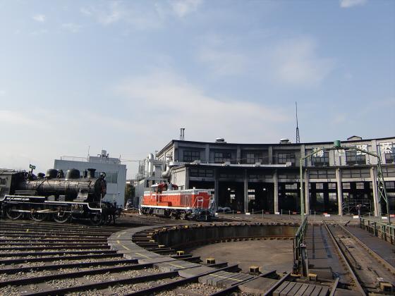 梅小路蒸気機関車館09