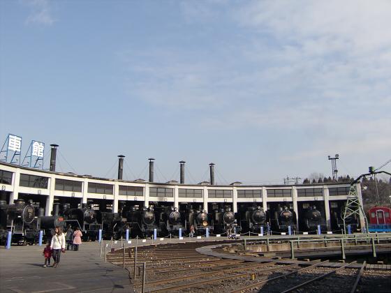 梅小路蒸気機関車館11