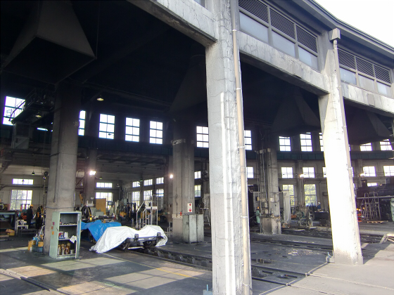 梅小路蒸気機関車館12