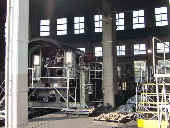 梅小路蒸気機関車館13