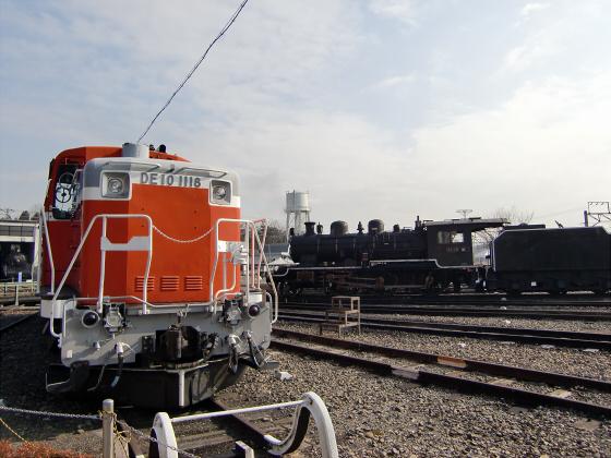 梅小路蒸気機関車館19