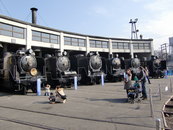 梅小路蒸気機関車館22