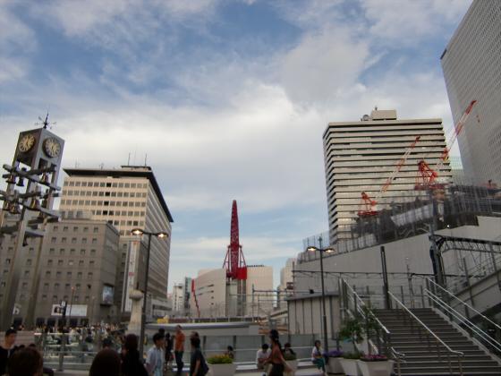 梅田の百貨店・ショッピングモール比較01