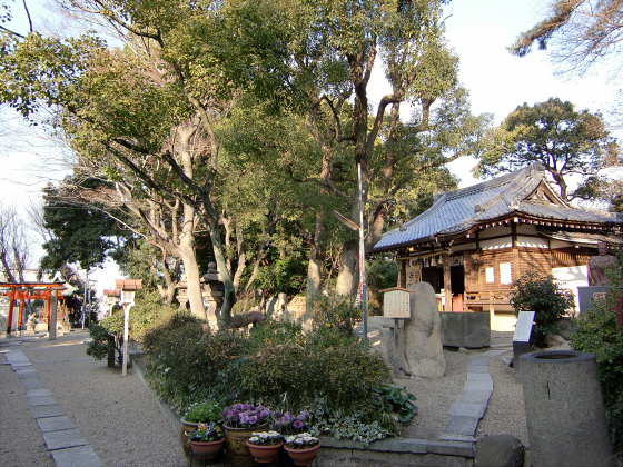 真田幸村縁の安居神社2013-04