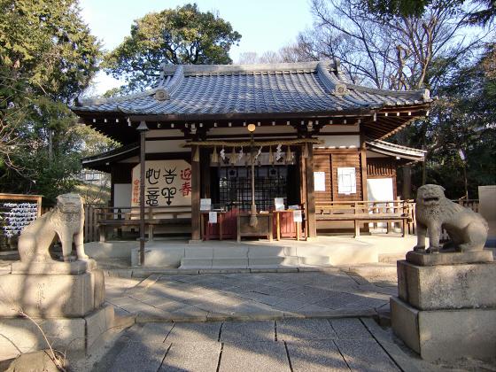 真田幸村縁の安居神社2013-05