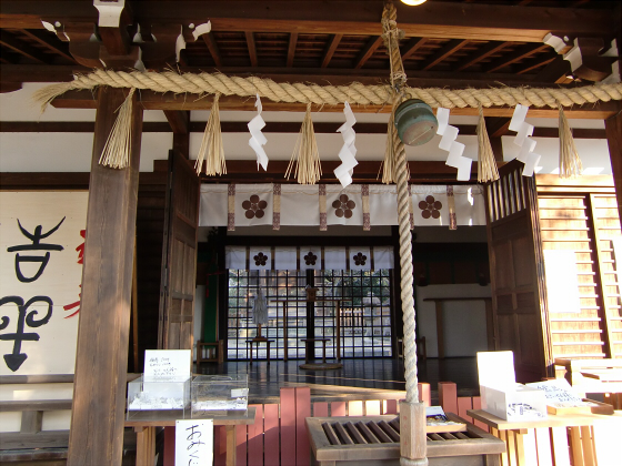 真田幸村縁の安居神社2013-06