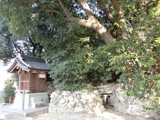 真田幸村縁の安居神社2013-08