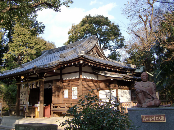 真田幸村縁の安居神社2013-12