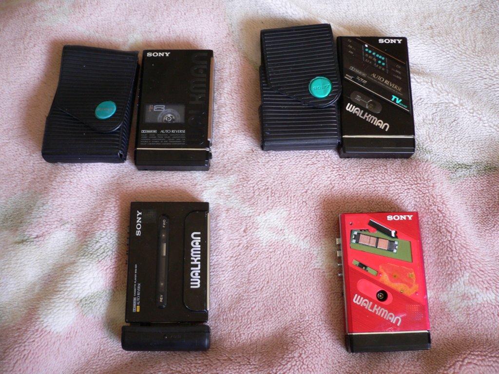 ダグくんのだらだら日記 Walkman Wm 501 他 カセットウォークマン