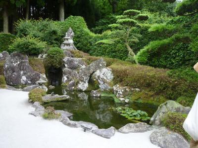 知覧武家屋敷の庭