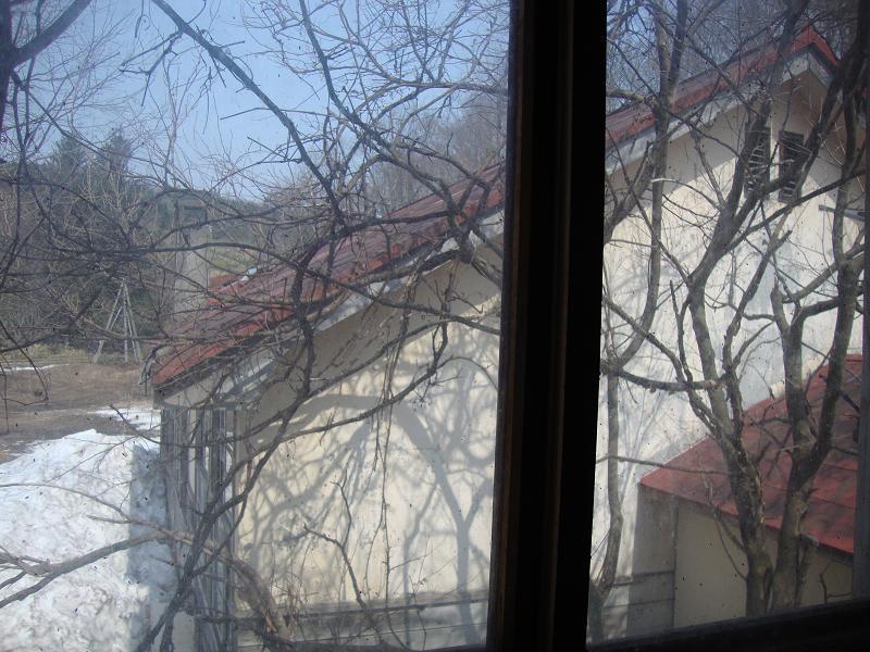 2階の窓より