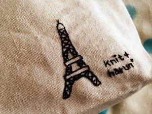 20141009 エッフェル塔の刺繍 拡大