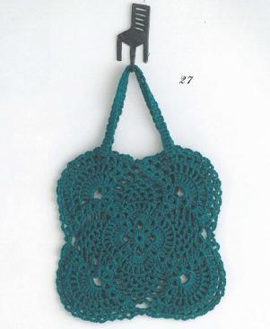 20141010 4玉までで編めるかぎ針編みのかわいいバッグ