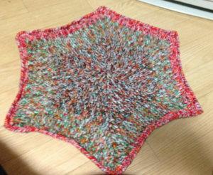 20141121 不要な糸でミニ絨毯