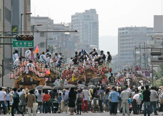 本山だんじりパレード2010-1