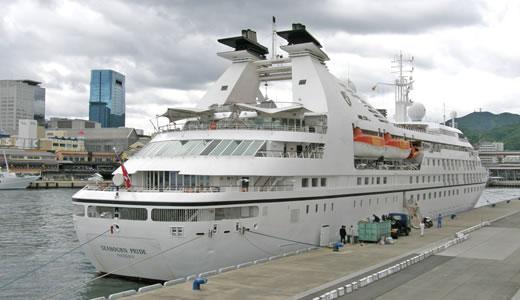 クルーズ客船 SEABOURN PRIDE 初入港-3