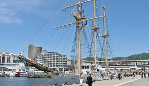 帆船「あこがれ」船内一般公開-1
