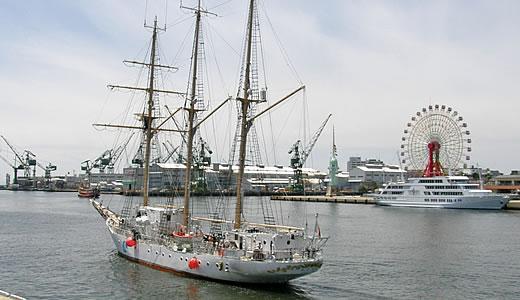 帆船「あこがれ」船内一般公開-3