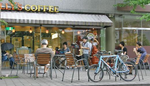 タリーズコーヒーJazzLive